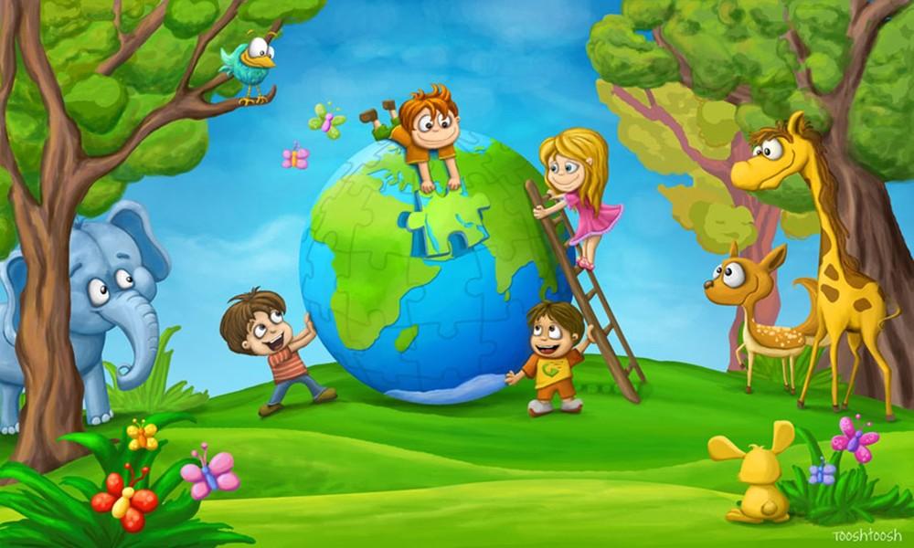 Красная, картинки экологии для детей