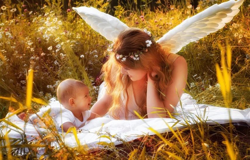 мама ангел живые картинки