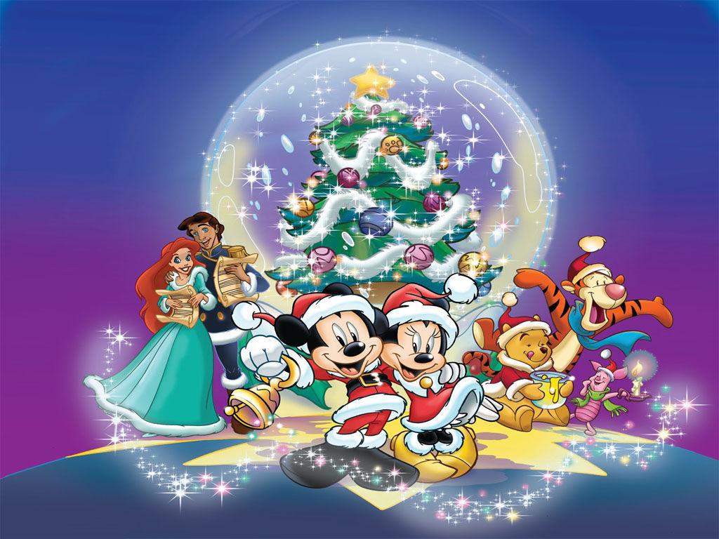 Мультяшное новогоднее поздравление